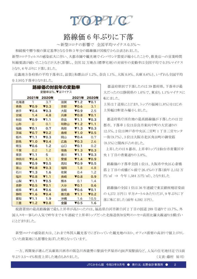 JTCかわら版9月号Vol.200-02