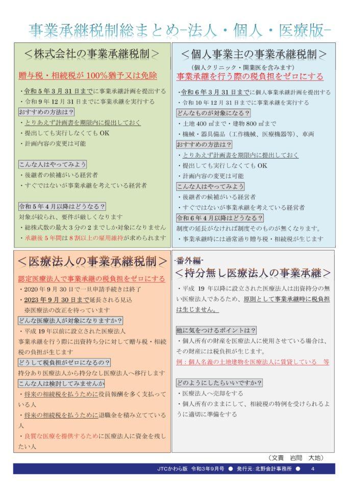 JTCかわら版9月号Vol.200-04